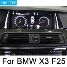For BMW X3 F25 2014-2017 NBT Car multimedia Android Auto radio Radio GPS player Bluetooth WiFi Mirror link Navi Map Wifi