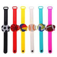 Bracelet Wristband Soap-Dispenser Hand-Sanitizer-Holder Travel Kids Portable Cute Cartoon