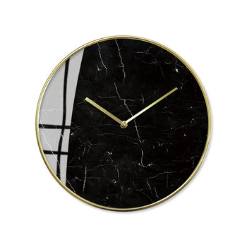 Large Marble Modern Design Wall Clock Luxury Gold Glass Nordic Unique Kitchen Wall Watches Kids Living Room Home Decor II50BGZ