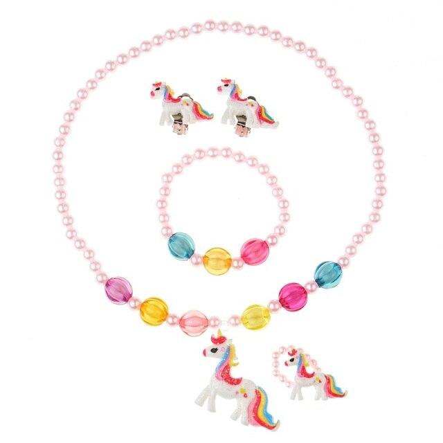 4 Pcs/set Unicorn Children...