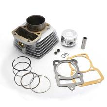Motorcycle Cylinder Reuild Kit 63.5mm Bore for Racer RC200GY-C2 RC200-CS SKYWAY RC200-GY8 RANGER RC200-C5B Magnum 196cm3 164FML