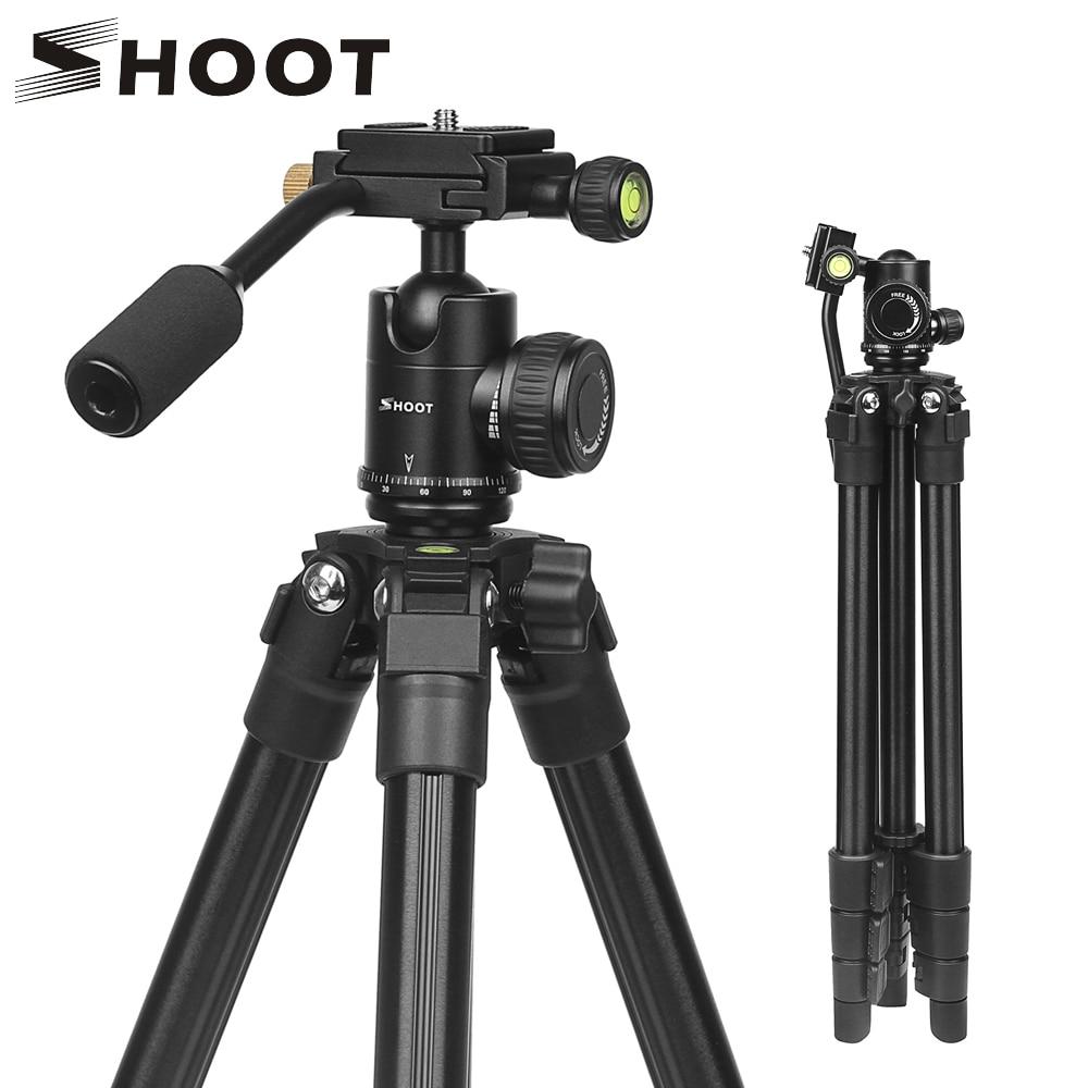 Camera Accessories 2 PCS DSLR Camera Tripod Stand Photography Photo Video Aluminum Camera Tripod