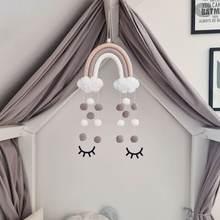 Скандинавские радужные украшения ручной работы для детской комнаты
