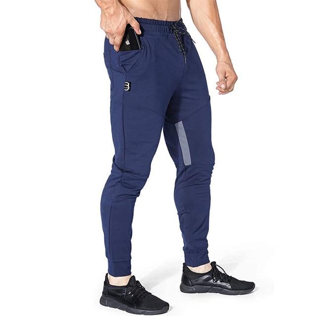 New Brand Jogging Pants Men Sport Sweatpants Running Pants Men Fitness Joggers Trackpants Slim Fit Pants Bodybuilding Trouser 4
