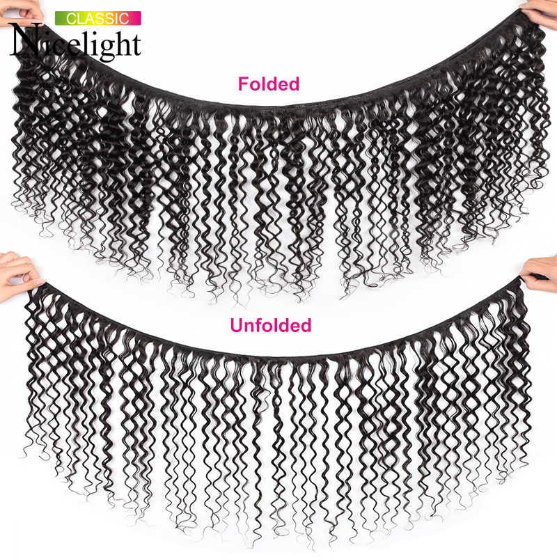Waterwave Bundles With Frontal Human Hair With Frontal And Bundles Water Wave Bundles With Closure Indian Hair Bundles Nicelight