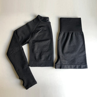 0803Black Top Shorts