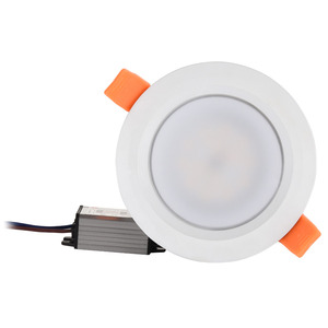 Image 1 - Waterproof LED Ceiling IP66 Fully sealed 5W 7W  9W Warm White Cold White Recessed LED Lamp Spot Light  White shell AC85 277V