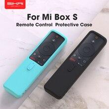 SIKAIซิลิโคนกรณีรีโมทคอนโทรลสำหรับXiaomi Mi Box S TV Stickรีโมทคอนโทรลนุ่มธรรมดาRemotecontrol Cover