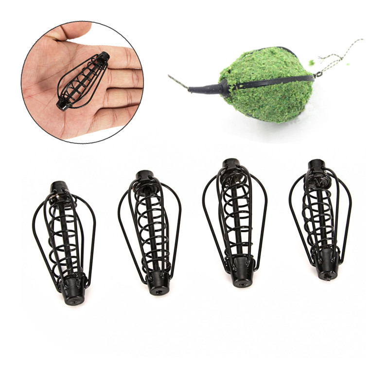 Metal Fishing Bait Cage 15g/20g/25g/30g With Lead Thrower Carp Fishing Bair Catfish Feeder Fishing Tackle Accessories