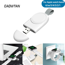 Portable Wireless Charger for Apple Watch Series 6 se 5 4 3 2 1 band strap Station USB Charger Cable for IWatch 6 se 5 4 3 2 1