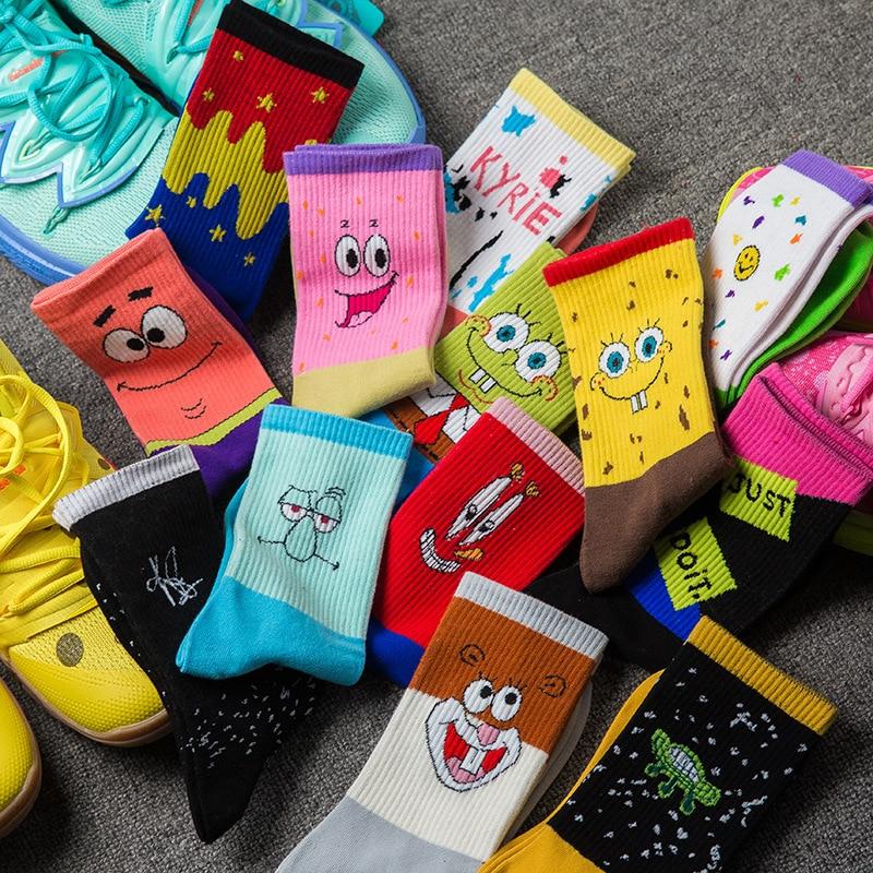 New Arrival Unisex Short Socks Women's And Men's Socks Cute Cartoon Characters Socks Pure Cotton Socks Men's Crew Socks