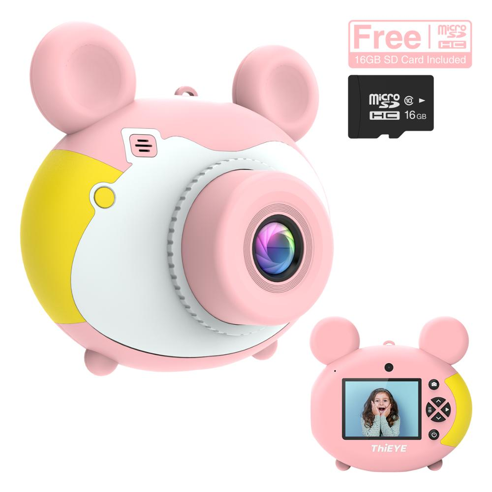 ThiEYE Kiddy 2 Children Mini Camera Kids Educational Toys for Baby Children Gifts Birthday Gift Digital