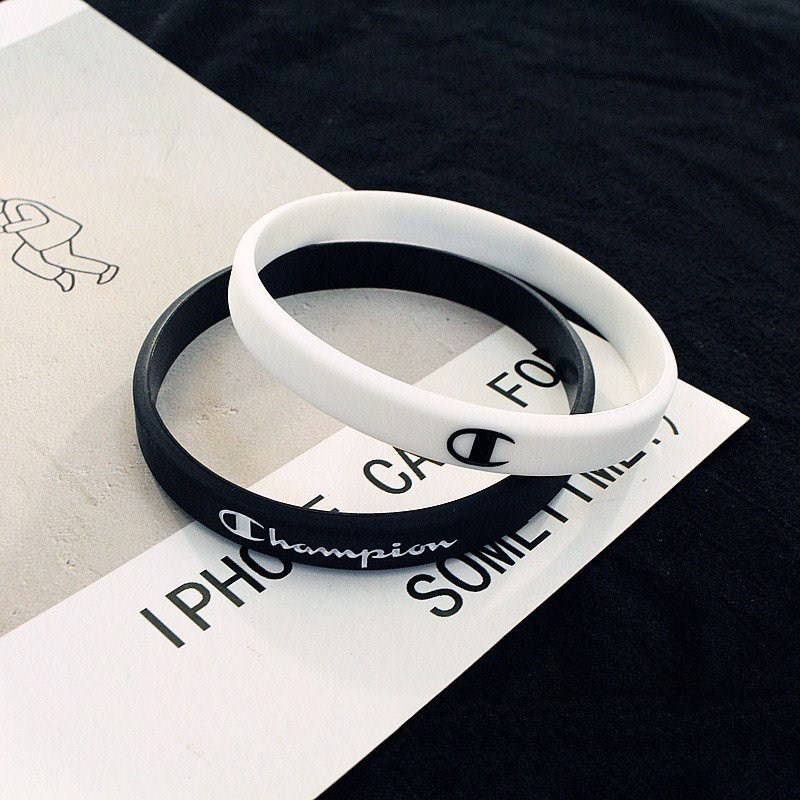 A Pair Of Apathy Boys And Girls MORI Series Silica Gel Bracelet Couples Korean-style Pair COUPLE'S Fashion Man Skateboard Access