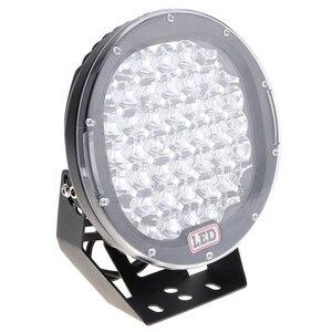 Image 5 - עגול LED זרקורים 225W 45x LED רכב אור בר כמו Worklight ספוט אור עבור שייט דיג SUV זרקור LED אורות