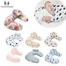 Almohada de lactancia para bebé recién nacido, Almohadas de lactancia, almohadillas antireflujo para niño, posicionador de cabeza, cojín de cintura de protección