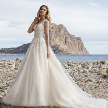 Robe de Mariage Bohème Romantique Emmy
