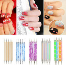 Get more info on the 5pcs/set Dotting Pen Nail Art Pencil Pick Up Tools Glitter Rhinestone Jewel Picker Nail Polish Markers Dot Painting Accessories