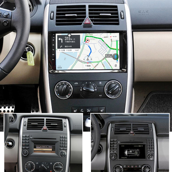 64GB Android 10.0 2Din Car Multimedia GPS For Benz B200 A160 A170 A180 2009-2012 Autoradio BT Navigation Stereo Head Unit Radio image