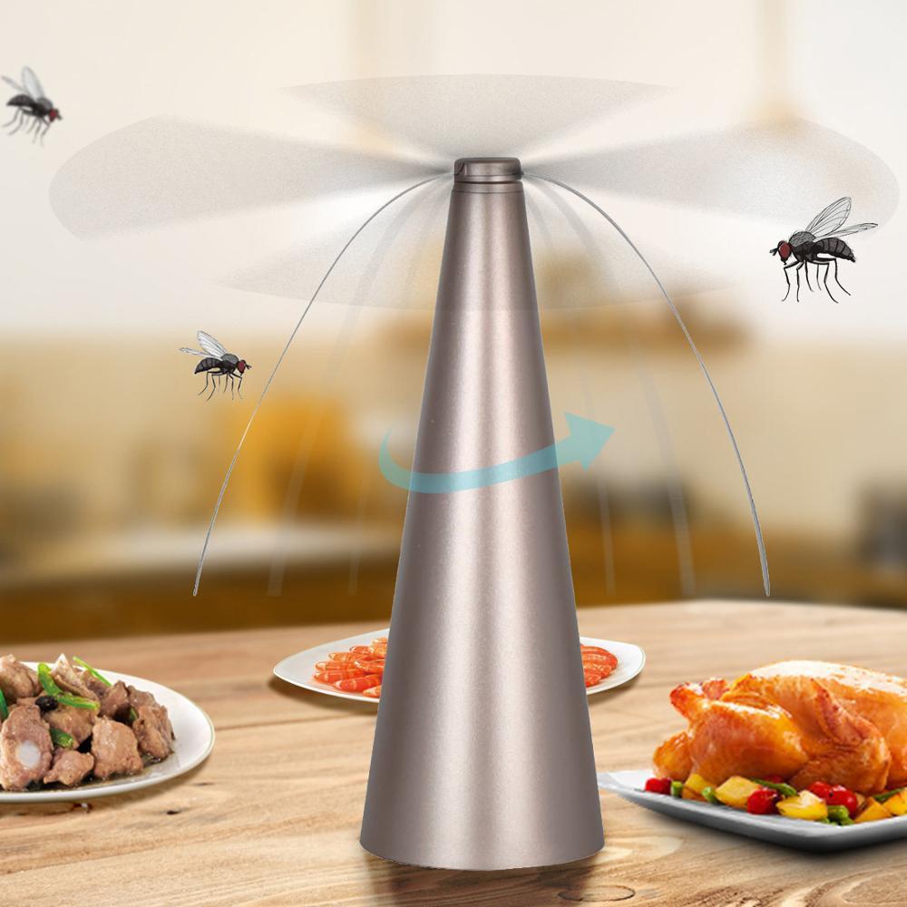 Repelente de mosquitos, insectos, Control eléctrico automático de plagas, abanico repelente de moscas, mantener las moscas y los insectos lejos de tu trampa para mosquitos