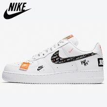 Zapatillas deportivas Air Force 1 para hombre y mujer, zapatos de Skateboarding cómodos, color blanco, AF1 One Just Do It