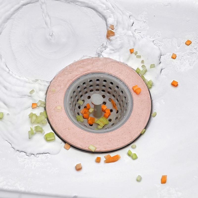 Silicone Sink Round Trap-Anti-clogging Sink Strainer