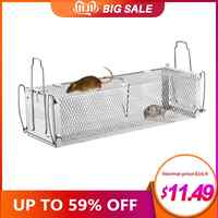 Smart Door Humane Live Mouse Trap Animal Mouse Cage Rat Mouse Mice Home Traps Small Rodent Animals for Indoor Outdoor
