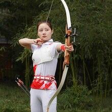 Arc classique 62 pouces/48 pouces tir à l'arc en plein air Sport chasse pratique arc pour droitier enfants tir à l'arc arc adulte