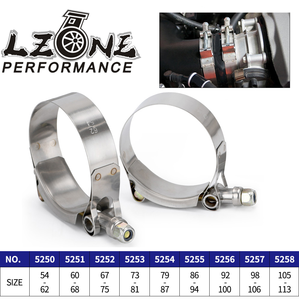 """2.0"""" 2.25"""" 2.5"""" 2.75"""" 3.0"""" 3.25"""" 3.5"""" 3.75"""" 4.0"""" T-Bolt Exhaust Clamp Intake Turbo Exhaust Intercooler Silicone Coupler 1 Piece"""
