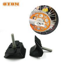 OTOM Motorcycle Aluminum and Rubber Wheel Rim Lock Tyre Safe Pit Bike Motocross 1.85
