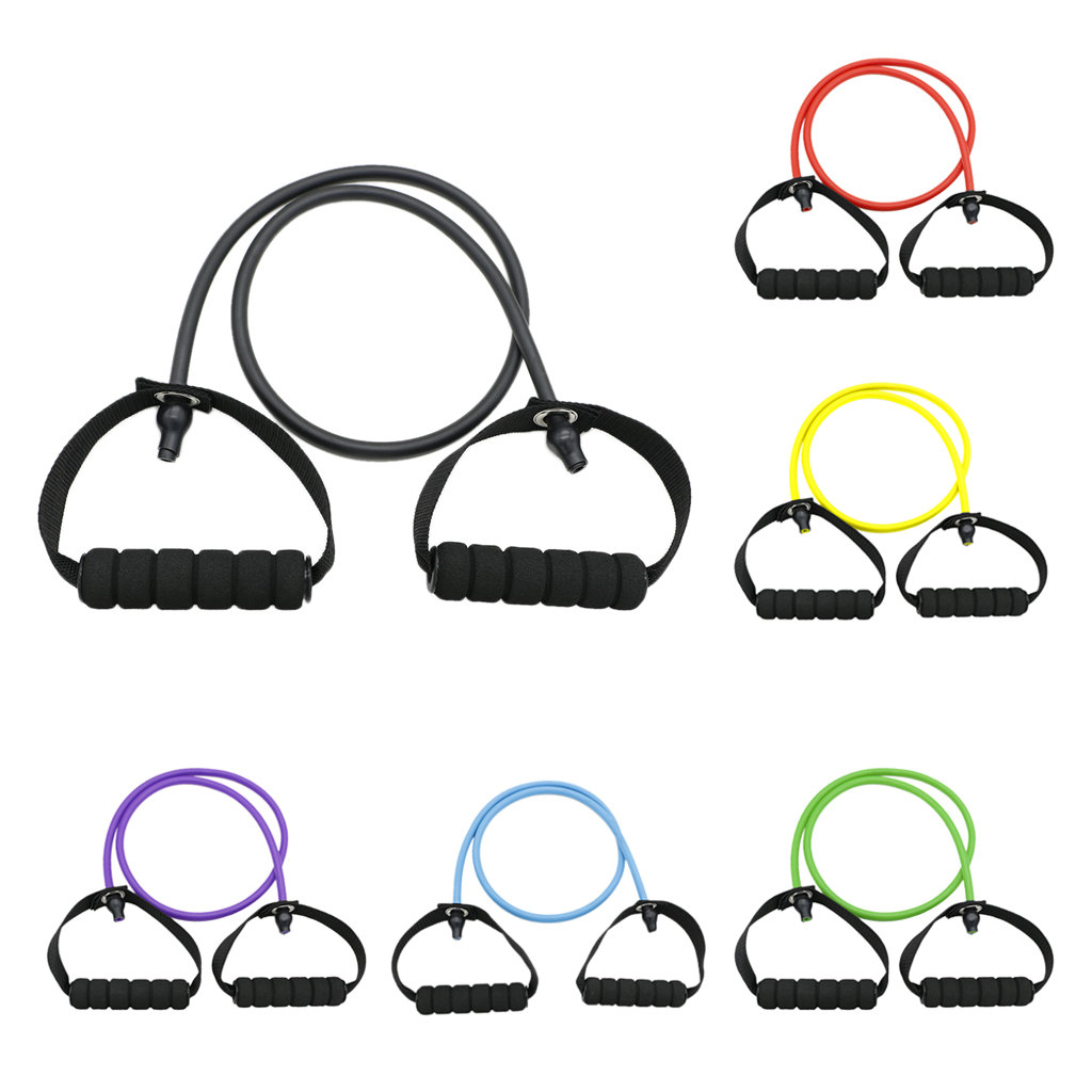 Strength Training Resistance Band Pilates Tube Rope Gym Yoga Fitness Cord Fitness Equipments