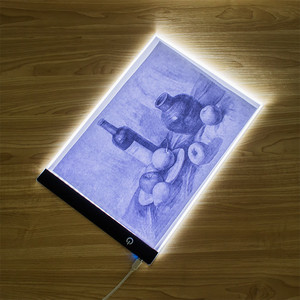 Image 1 - Electronic Art Graphic Painting Writing Table A4 Drawing Tablet Digital Graphics Pad USB LED Light Box Tracing Copy Board