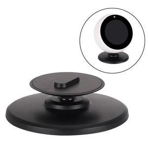 Image 2 - Gosear Fashion 360 Degree Rotation Magnetic Bracket Holder Base Stand Mount Dock for Amazon Echo Spot Smart Speaker Accessories