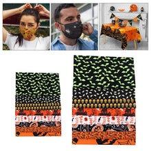 16 шт хлопковая ткань для хеллоуина текстильная стеганая Лоскутная