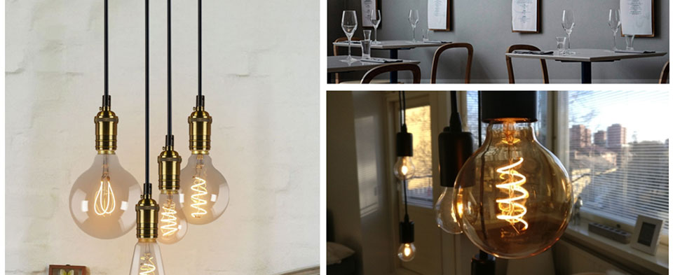 Bombilla LED retro estilo edison