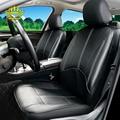 1set Neue auto sitz abdeckung Pu leder material durch die sitz covers Schwarz universal auto sitz abdeckung für auto volvo für auto nissan-in Auto-Sitzbezüge aus Kraftfahrzeuge und Motorräder bei
