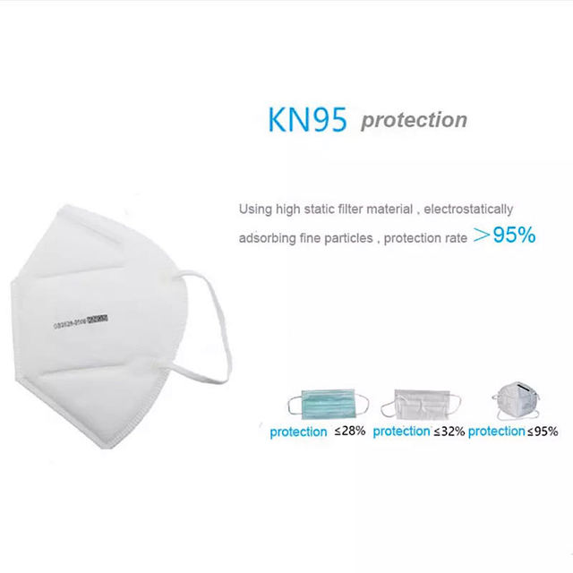 N95 PM2.5mask KN95 flu fog dust mask fine filter wholesale flavor pollen protective KN95 mask 2