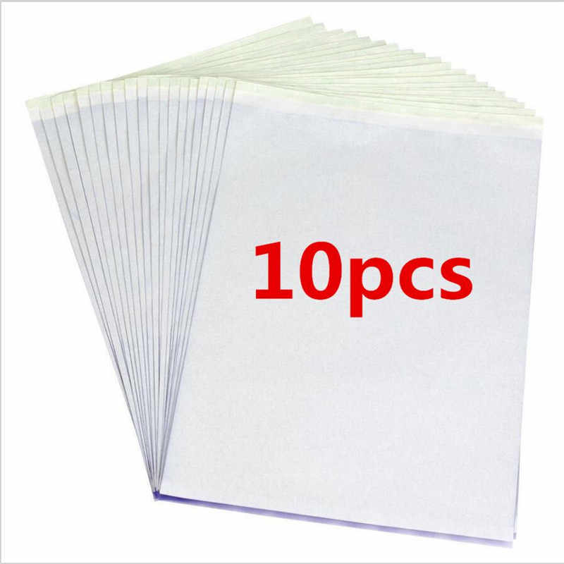 10pcs/set  Tattoo Stencil Carbon Thermal Tracing Hectograph Transfer Copy Paper