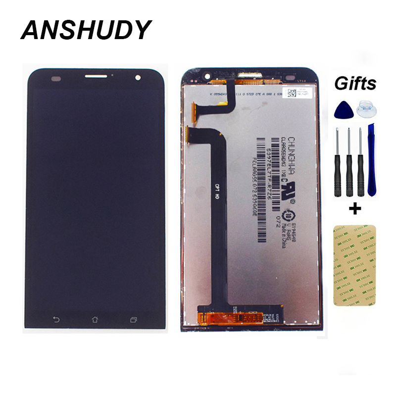 For ASUS Zenfone 2 Laser <font><b>ZE550KL</b></font> <font><b>LCD</b></font> Display Panel Monitor Module + Touch Screen Digitizer Sensor Glass Assembly image