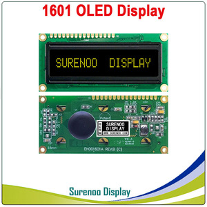 Image 3 - Pantalla OLED Real, pantalla de módulo LCD paralelo de 1601 caracteres LCM, WS0010 incorporado, compatible con Serial SPI