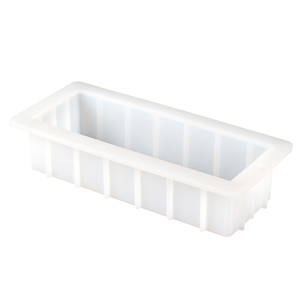Image 3 - Moule à savon rectangulaire en Silicone, moule à pain blanc Flexible à enlever, 40 onces, 10 pouces