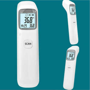 Temperature-Gun Digital-Thermometer LCD Forehead Non-Touch Baby Adult Infrared High-Precision