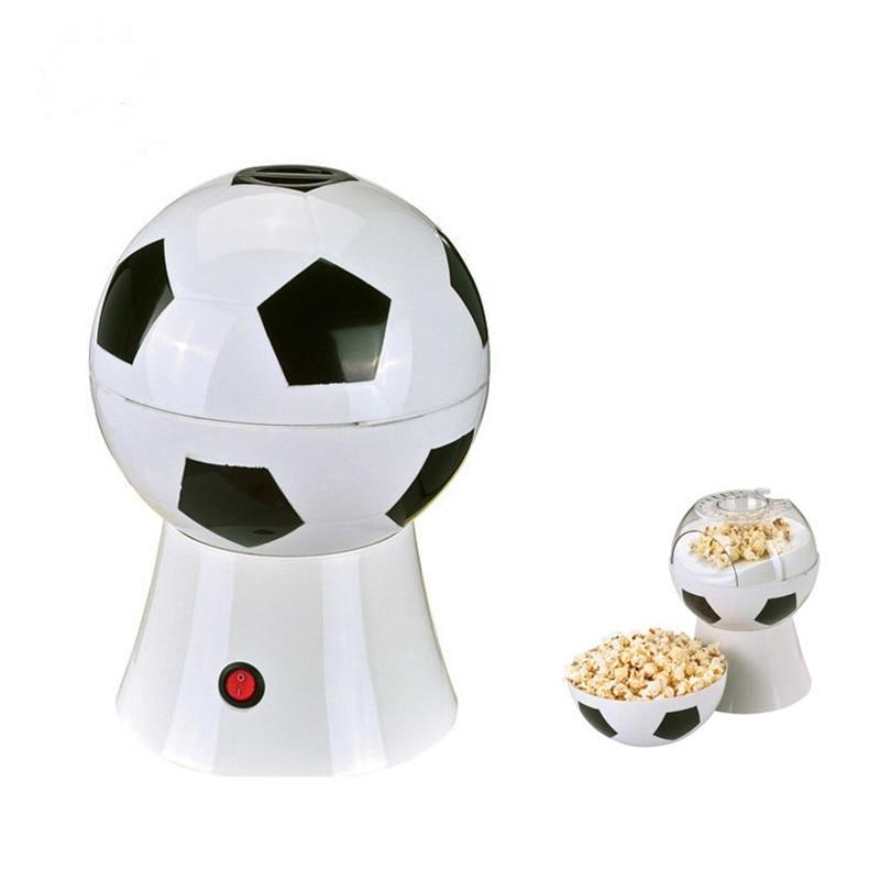 Кубок мира креативные подарки Домашний Футбол Электрический попкорн машина детская еда маленькая машина для пыхтения с европейской вилкой