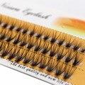 Ресницы Накладные из натуральной норки 20D индивидуальные, профессиональные Кластерные мягкие для макияжа, инструменты для макияжа, 60 шт.