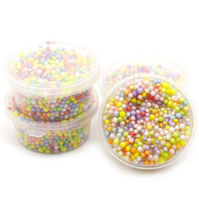 Antistress Toy Balls Slime-Supplies Tiny Charms-Filler Particles-Accessories Foam-Beads