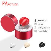 FANGTUOSI Mini Wireless Bluetooth Kopfhörer Mit Mic lade box Headset Sport Läuft Ohrhörer Kopfhörer Für iPhone Samsung