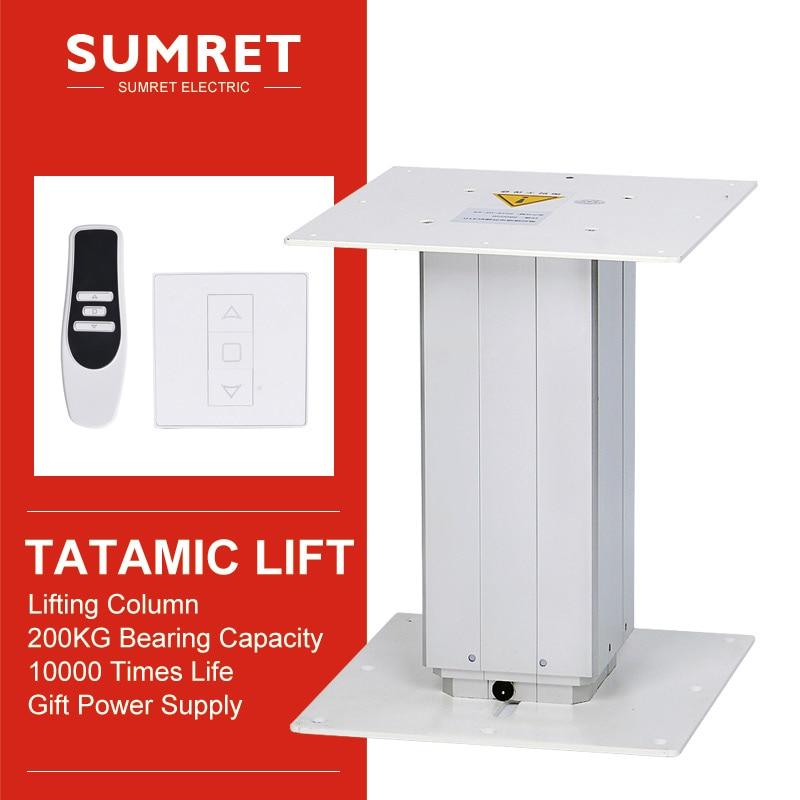 Электрический подъемный стол татами, автоматическая подъемная платформа, регулировка высоты 260-550 310-670 360-800 410-700 мм, бесшумный Wi-Fi