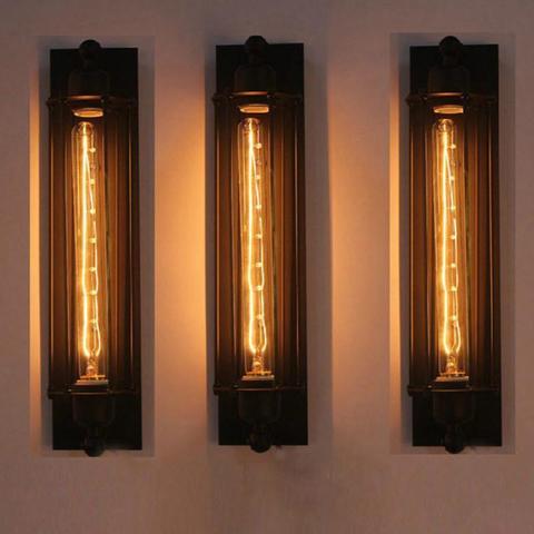 e27 decorativo corredor barra lampada de parede facil instalar restaurante interior cafe vintage estrutura ferro