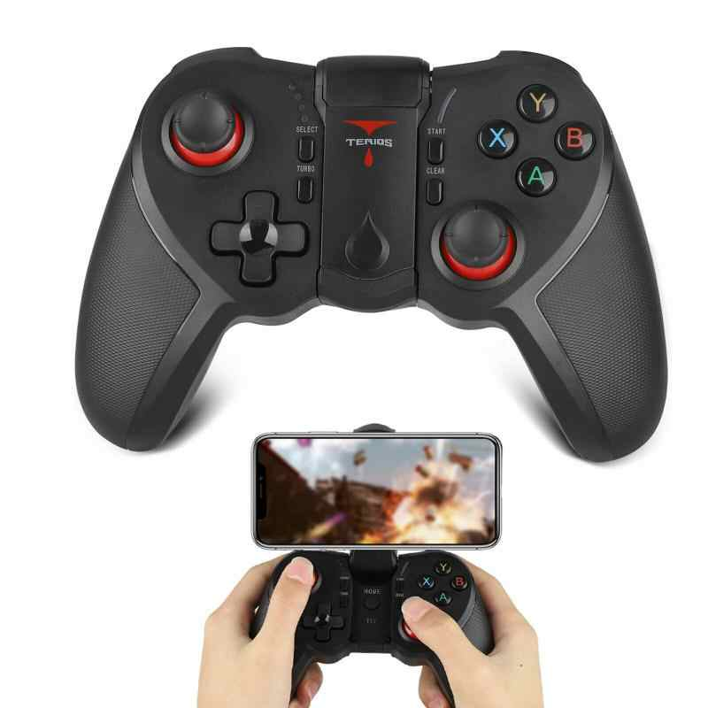 Draadloze Bluetooth Gamepad L1 R1 Triggers Pubg Moible Controller Joystick Voor T12 Apple Android Ios Telefoon Tablet Pc Gamepads