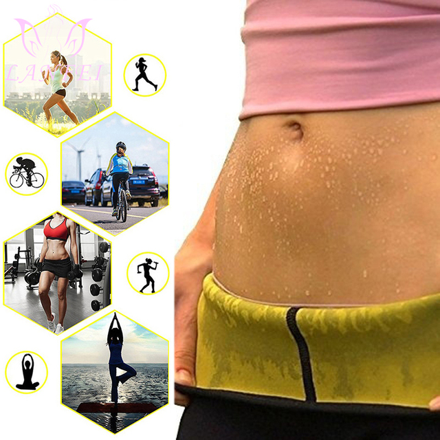 LANFEI Women Waist Trainer Belt Slimming Sweat Body Shaper Girdle Neoprene Waist Cincher Modeling corset Strap for Fat Burning 1