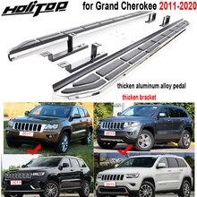 Marchepied latéral nouveauté pédales pour Jeep Grand Cherokee 2011 2020, support épais, excellent chargement puissant